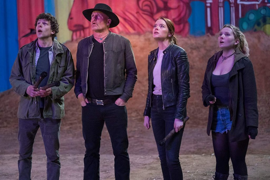 A Great Cast Shambles Through a Middling Comedy Sequel in <i>Zombieland: Double Tap</i>