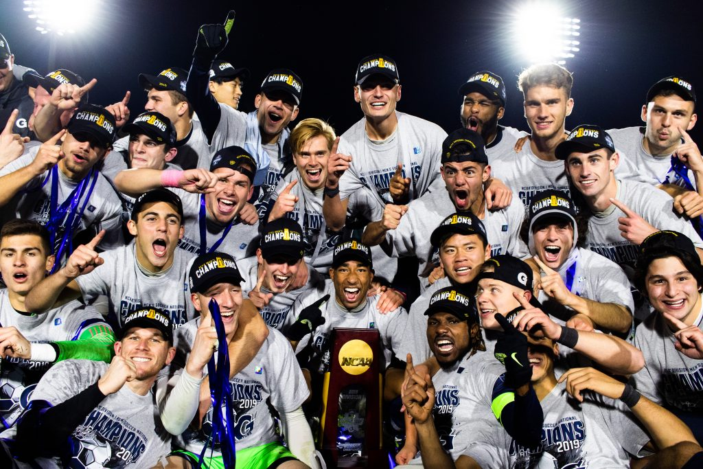 3-seed Men's Soccer Crowned National Champions After Penalty Kicks