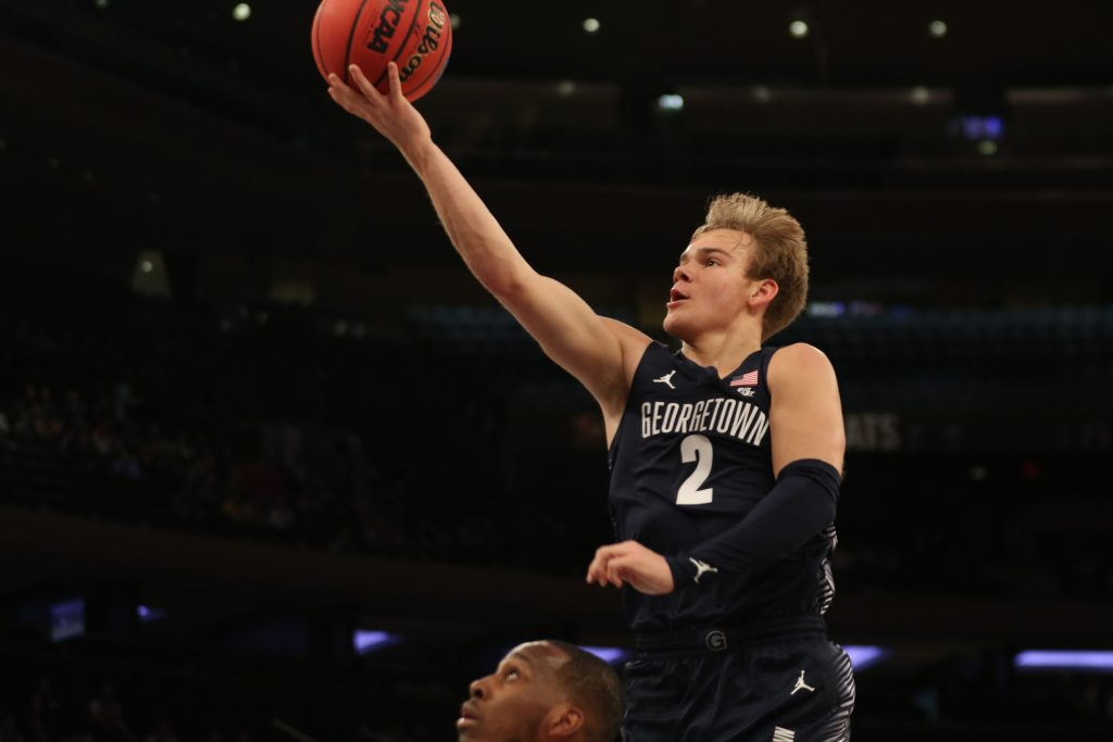 McClung Leads Hoyas to Key Win Amidst Turmoil