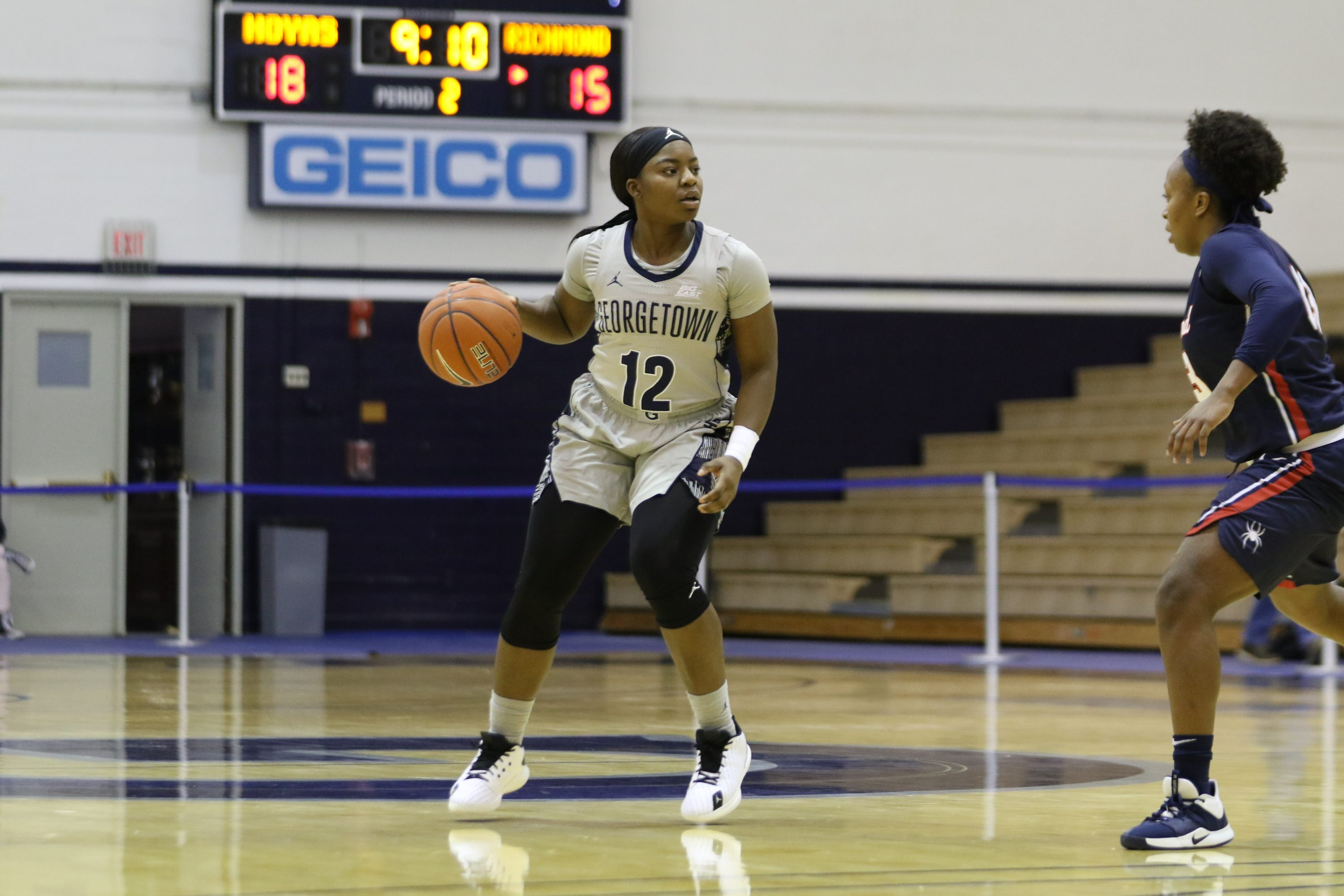 Women's Basketball Struggles in Road Trip - The Georgetown Voice