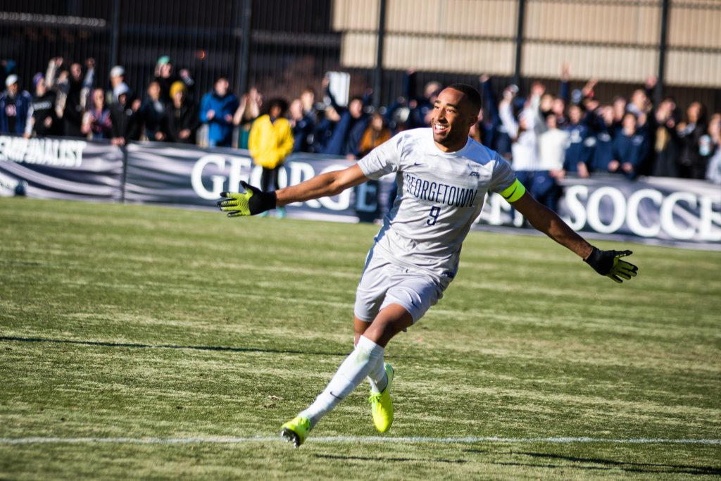 Men's Soccer Defeats Washington with Thrilling Comeback in NCAA Quarterfinals