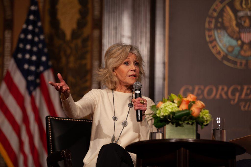 Jane Fonda Discusses Climate Activism