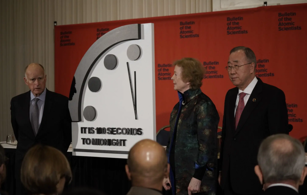 100 Seconds to Midnight: Scientists and World Leaders Warn of Doomsday