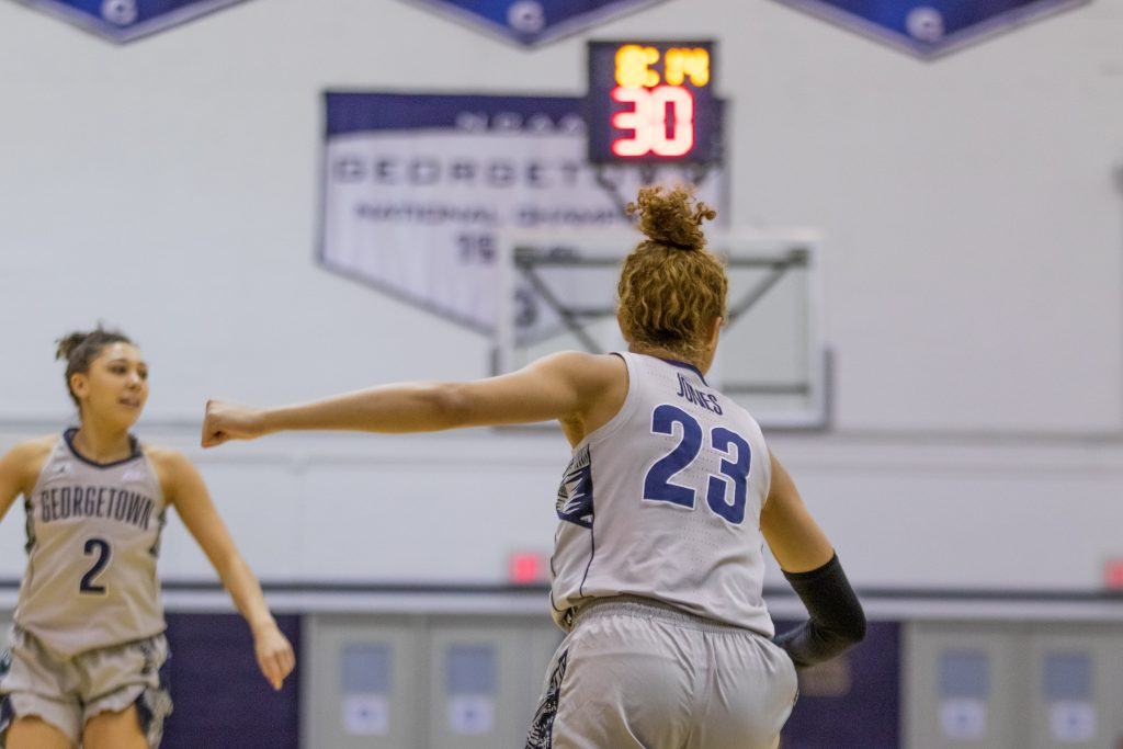Women's Basketball Overmatched in 53-74 Loss at Villanova