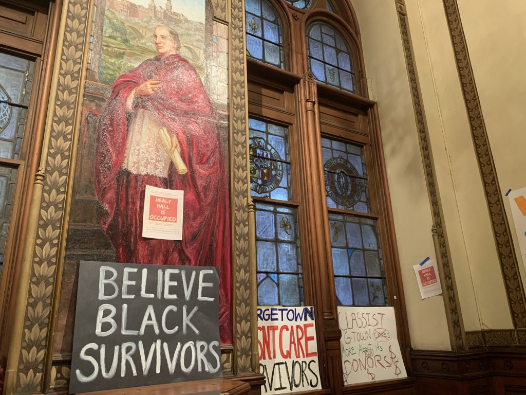 Black Survivors Coalition sit-in enters second and third days