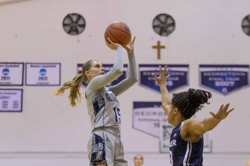 Women's Basketball Falls Short Against Seton Hall, Drops Eighth Straight
