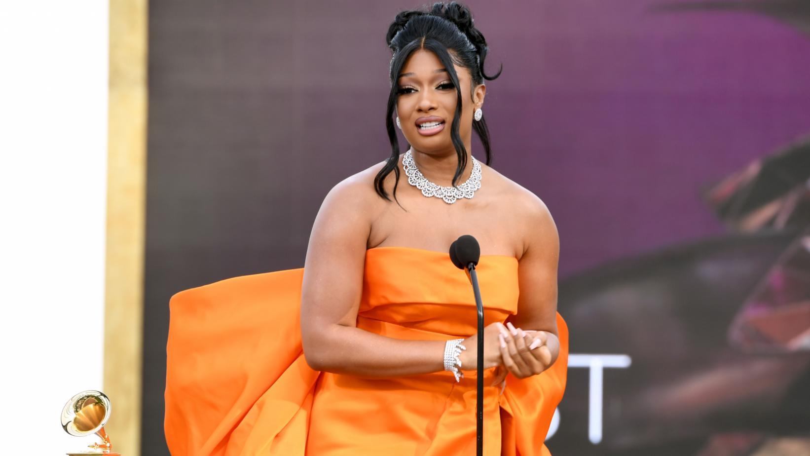 Megan Thee Stallion bodied the Grammys